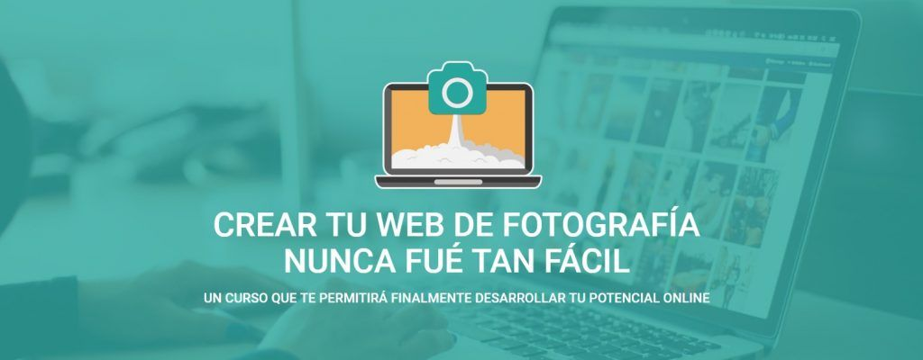 marketing para fotografos - crea tu web